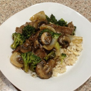 Beef an Broccoli Stir-Fry