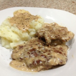 Country Fried Steak with Gravy